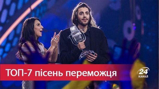 Переможець Євробачення-2017 португалець Сальвадор Собрал, який переміг з композицією