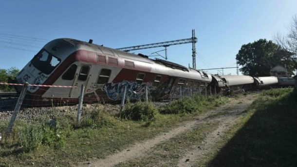 Залізнична аварія в Греції
