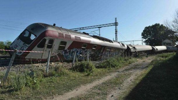 Железнодорожная авария в Греции