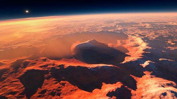 Марс затопила потужна повінь