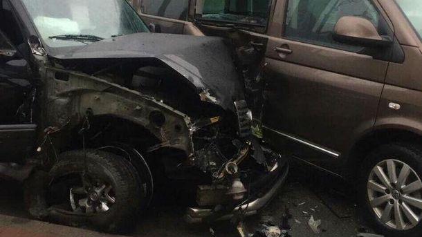 Аварія, в яку потрапив працівник НАБУ