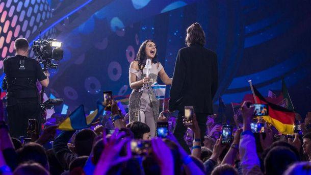 Джамала на финале Евровидения-2017