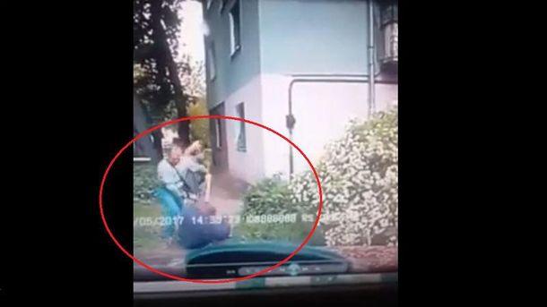 Напад охоронця Яроша на таксиста
