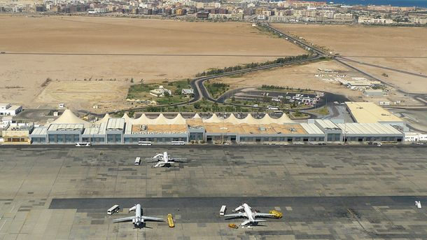 Аэропорт в Хургаде