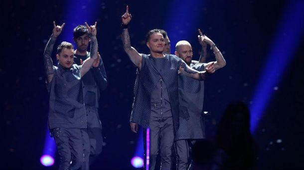 Выступление O.Torvald в финале Евровидения-2017