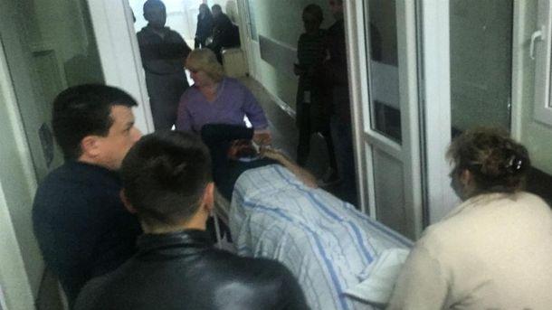 Нападение на депутата в Николаеве