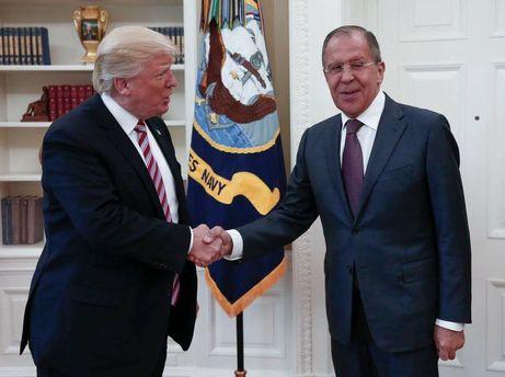 Трамп поділився секретною інформацією із Лавровим