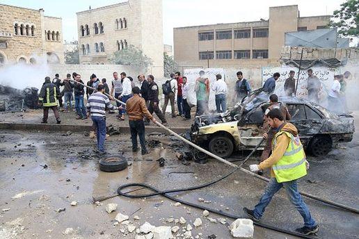 Авиация Асада ударила по жилым районам Сирии
