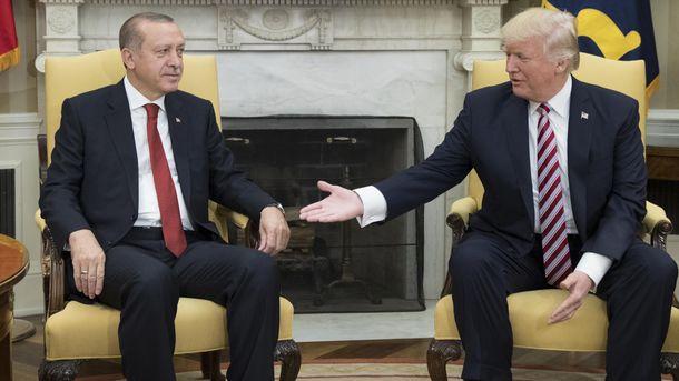 Реджеп Таїп Ердоган і Дональд Трамп