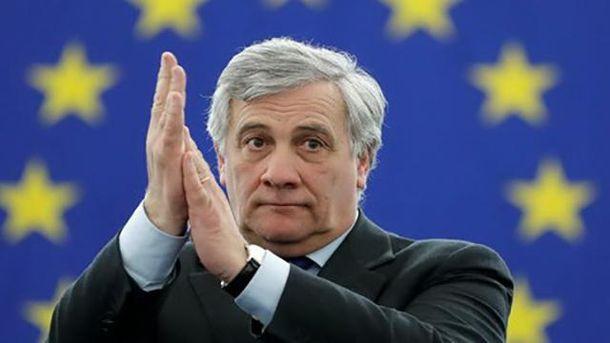 Председатель Европарламента Антонио Таяни