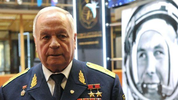 Советский космонавт Виктор Горбатко