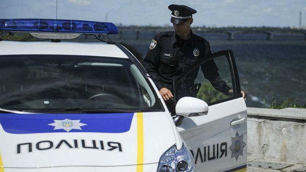 Автомобиль полиции (Иллюстрация)