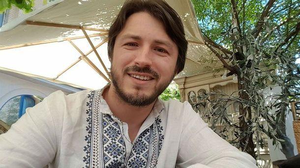 Сергей Притула в вышиванке
