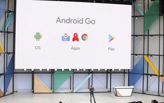 Презентація програмного забезпечення  Android Go