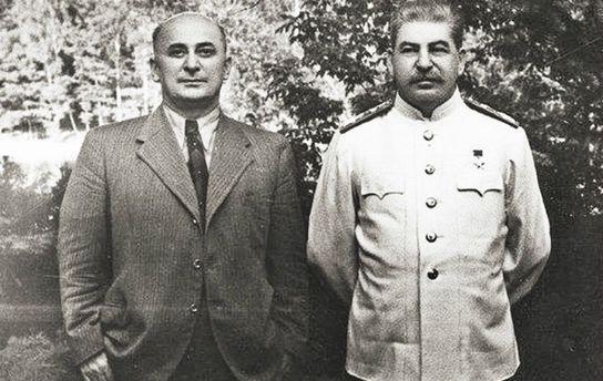 Берія та Сталін