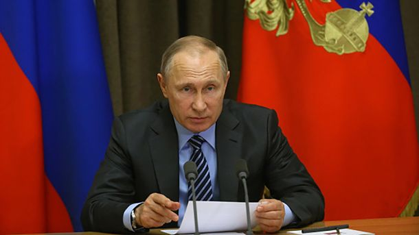 Владимир Путин в закрытом режиме пообщался с российскими журналистами