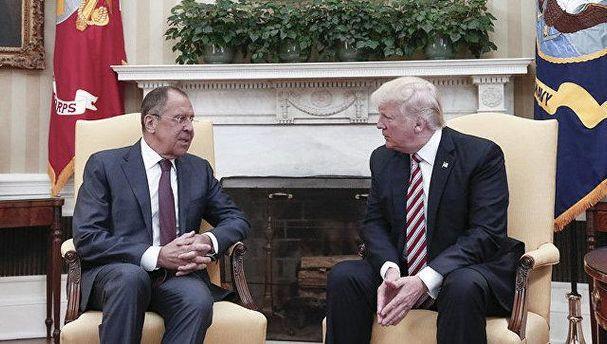 Трамп рассказал секретную информацию Лаврову