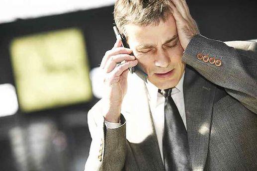 В России возникли проблемы с мобильной связью