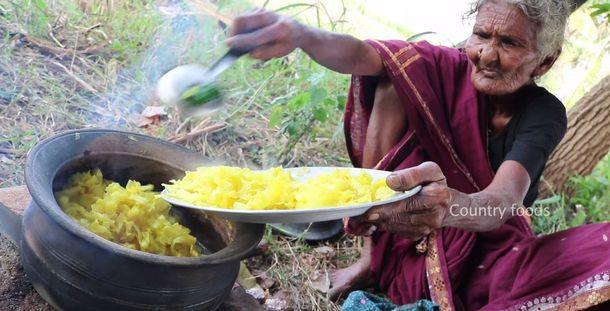 106-летняя Мастанамма из Индии