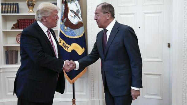 Трамп і Лавров зустрілись у Білому Домі