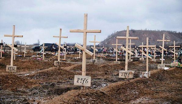 Поховання на Донбасі