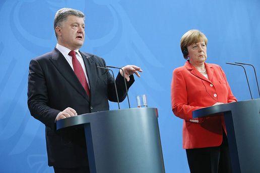 Зустріч Порошенка та Меркель: перші заяви