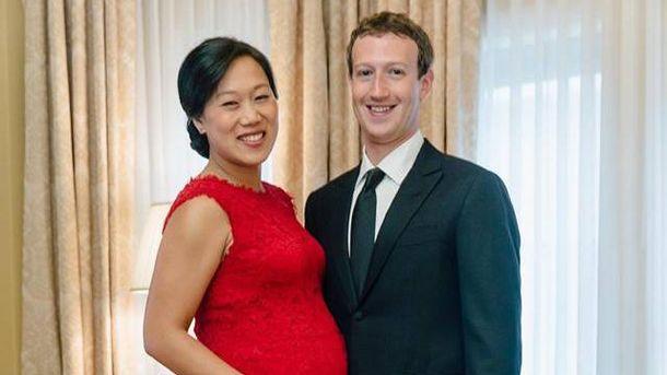 Марк Цукерберг і Прісцилла Чан