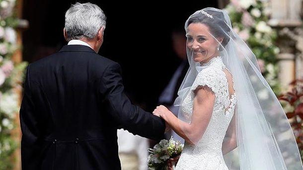 Розпочалась весільна церемонія сестри Кейт Міддлтон: перші фото