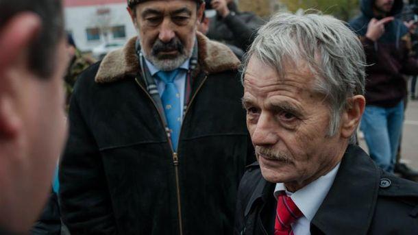 Национальный лидер крымских татар Мустафа Джемилев