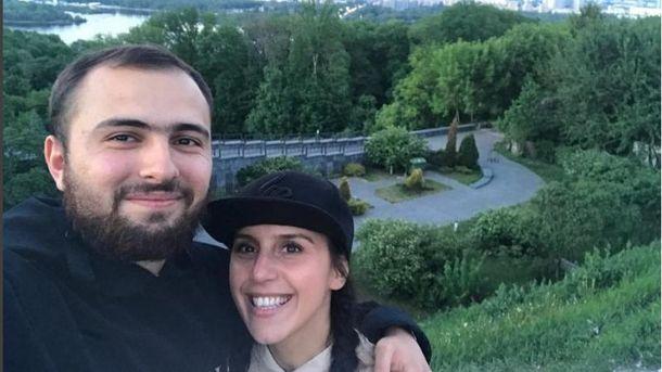 Джамала з коханим прогулялась вечірнім Києвом