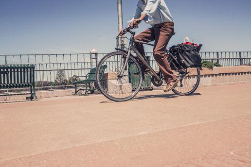Створили велосипед, який очищує повітря