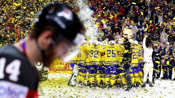 Фінал ЧС з хокею: Швеція здолала Канаду