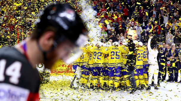 Финал ЧМ по хоккею: Швеция одолела Канаду