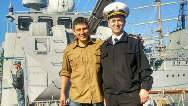 Капитан Александр Орехов
