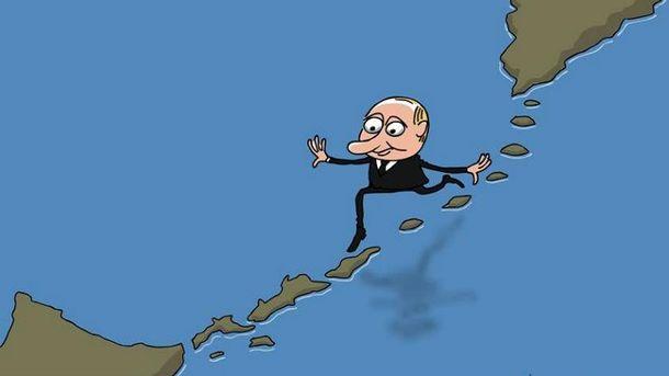 Війна в Україні (Карикатура)