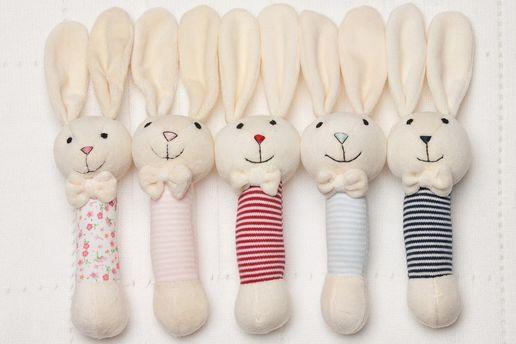 Плюшеві кролики