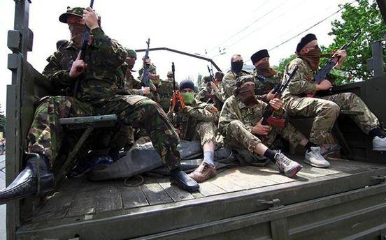 На Луганщине замечены две колонны военной техники России