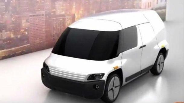 Беспилотный автомобиль-трансформер