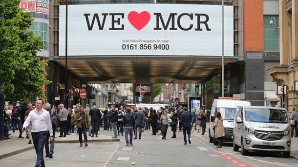 Поліція евакуювала людей з торгового центру у Манчестері
