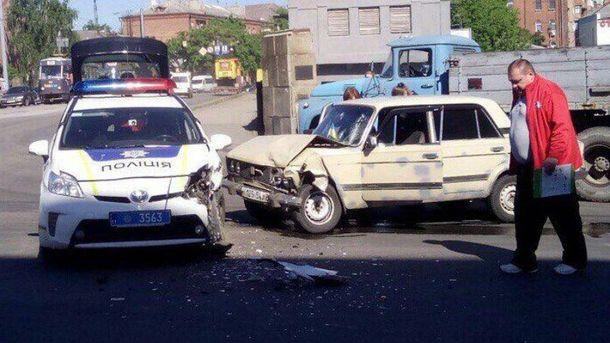 Аварія за участі поліції у Харкові