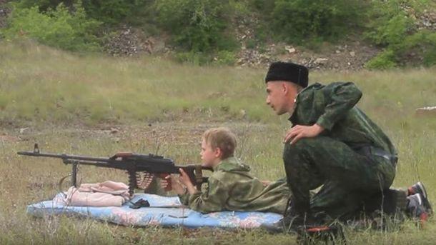 Террористы учат стрелять детей