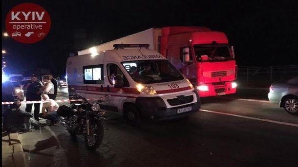 У Києві невідомі розстріляли мотоцикліста