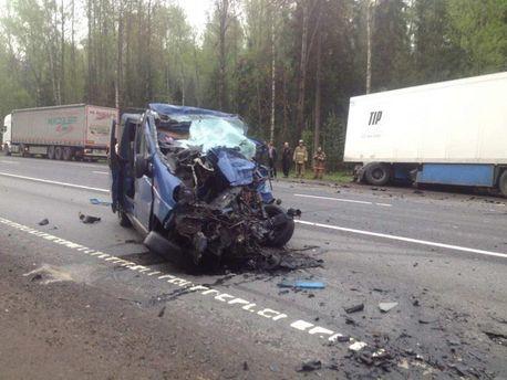 Жуткое ДТП с украинцами в России, погибло шесть человек