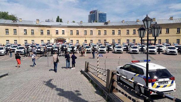 Mitsubishi Outlander для полиции