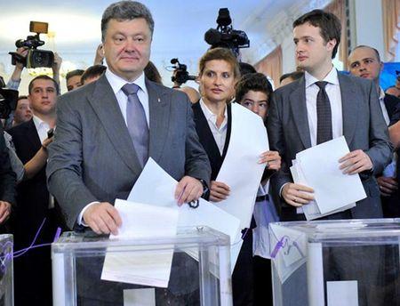 Алексей Порошенко оценил три года президентства Петра Порошенко