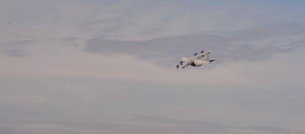 Полет Ан-70