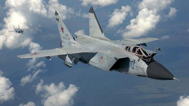 Российский военный самолет