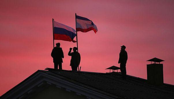 Оккупанты в Крыму