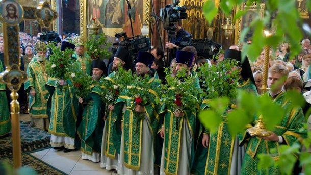 Троица 2017 в Украине