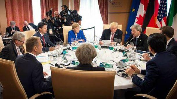 G7 должна подтвердить свое единство по отношению к Москве